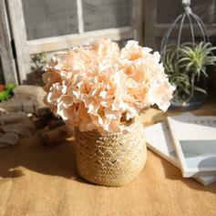 Hortensias Seda Flores de seda ( conjunto de 2)