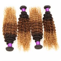4A Profond les cheveux humains Tissage en cheveux humains (Vendu en une seule pièce) 50 g