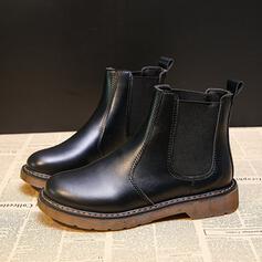 Nízký podpatek Placatý podpatek Široký podpatek Boty Kotníkové Boty Boty do deště High Top S Ostatní Elastický Náramek Solid Color obuv