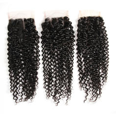 "4""*4"" 4A Kinky Curly Human Hair Closure (Sold in a single piece) 100g"