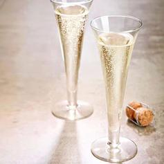 Klassische Art Glas Champagnergläser (satz 4)