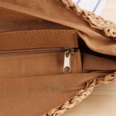 Modern/Flätad polyester Axelrems väskor/Strandväskor
