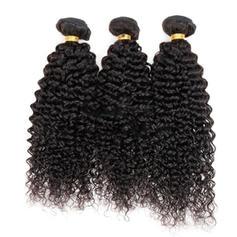 5A Kinky Curly les cheveux humains Tissage en cheveux humains (Vendu en une seule pièce) 100 g