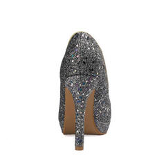 Women's Sparkling Glitter Stiletto Heel Pumps Platform With Sequin shoes