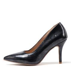 Women's Patent Leather Stiletto Heel Pumps shoes
