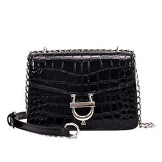 Refined/Alligator Pattern/Bohemian Style PU Fashion Handbags/Messenger Bags