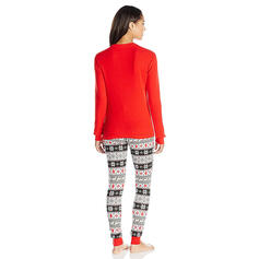 Poro Print Perhe vastaavia Joulu Pyjama