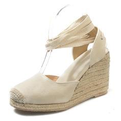 Pentru Femei PU Platforme Înalte Platforme cu Lace-up pantofi