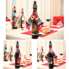Merry Christmas Acrylic Bottle Cover