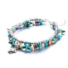 Modny Chłodny Stop Biżuteria plażowa Obrączki