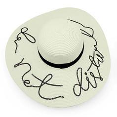 Señoras' Especial Papiro Sombreros Playa / Sol