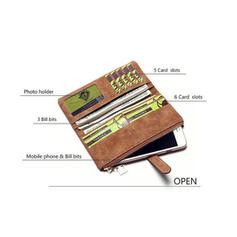 Enfärgad/Multifunktionella Plånböcker & Muddar