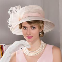 Ladies' Beautiful Cambric Bowler/Cloche Hat