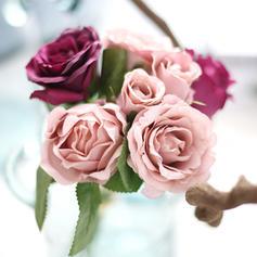 """9.84""""(Approximative 25cm) Des roses Soie Bouquets"""