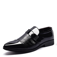 Penny Loafer Casual Work Leatherette Men's Men's Oxfords