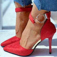 Női Műbőr Tűsarok Magassarkú -Val Lace-up cipő