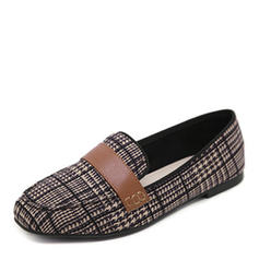 Dla kobiet Tkanina Płaski Obcas Plaskie Zakryte Palce obuwie