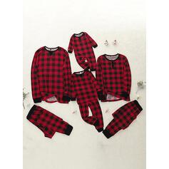 Karierte Passende Familie Christmas Pajamas