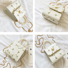 Elegant/Charming/Vintga/Floral Tote Bags/Shoulder Bags