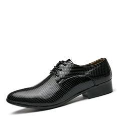 Lace-up Pantofi rochie Muncă Imitaţie de piele Bărbaţilor Oxfords de barbati