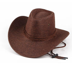 Hommes Unique Lin Chapeau de cowboy