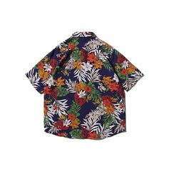Men's Leaves Hawaiian Beach Shirts