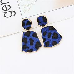 Leopard Alloy Women's Earrings