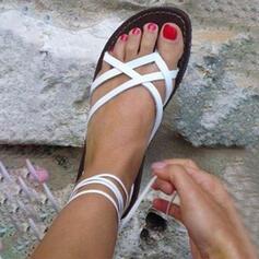 PU Tacón plano Sandalias Planos Encaje con Otros zapatos