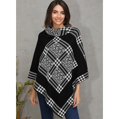 Print Turtleneck Sweaters