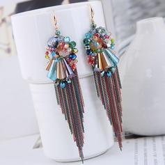 élégant Cristal Cuivre Femmes Boucles d'oreille de mode (Lot de 2)