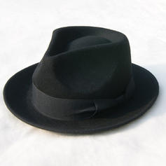 Men's Glamourous/Elegant/Simple Felt Fedora Hats