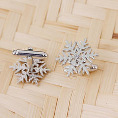 Snowflake Glass Body Jewelry Christmas Jewelry