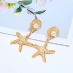 Stylish Alloy Imitation Pearls With Imitation Pearl Women's Earrings