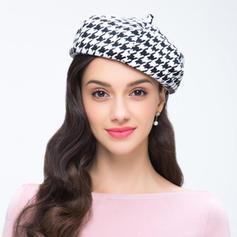Senhoras Lovely Lã Boina Chapéu