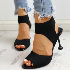 Mulheres PU Salto agulha Bombas com Outros sapatos