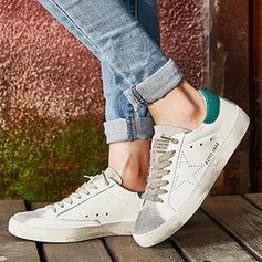 De mujer PU Tacón plano Planos con Cordones zapatos