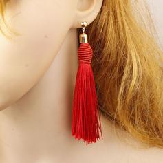 Alloy With Tassels Women's Fashion Earrings