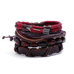 Unique Exquisite Stylish Alloy Leatherette Bracelets Beach Jewelry