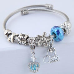 Fashionable Alloy Women's Fashion Bracelets (Sold in a single piece)