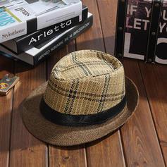 Mænd Hotteste Akryl/Saltet halm Stråhat/Strand / Sun Hatte/Panama Hat