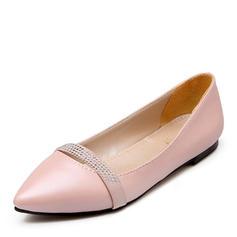 Dla kobiet PU Płaski Obcas Plaskie Zakryte Palce Z Pozostałe obuwie