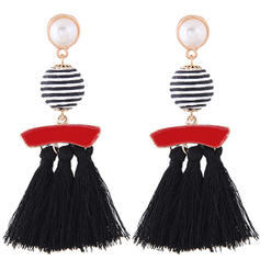 Unique Alloy With Tassels Women's Fashion Earrings