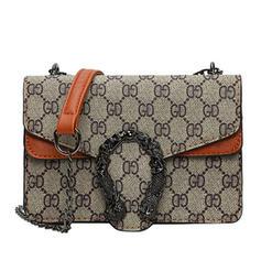 Elegant PU Satchel/Cross-Body Bags