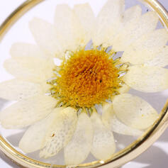 Znakomity Uroczy Stop Z kwiaty Kolczyki