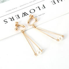Stylish Alloy Imitation Pearls With Imitation Pearl Women's Fashion Earrings