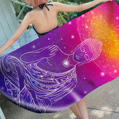 Geometric Print Oversized/attractive Beach Towel