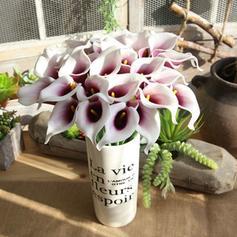 """14.57""""(Około.37cm) Lilie Plastikowy Jedwabne Kwiaty (Zestaw 6)"""