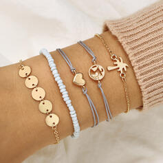 Alloy Jewelry Sets Bracelets (Set of 5 pairs)