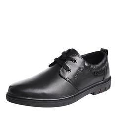Cordones Zapatos de vestir Piel Hombres Zapatos Oxford de caballero