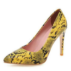 Kvinder Microfiber Læder Stiletto Hæl Pumps med Andre sko